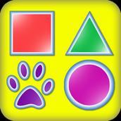 學習形狀 - 在孩子1場比賽,形狀和顏色3