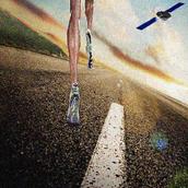 Runner GPS speed distance