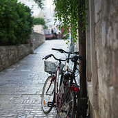 A childhood memory of two bicycles