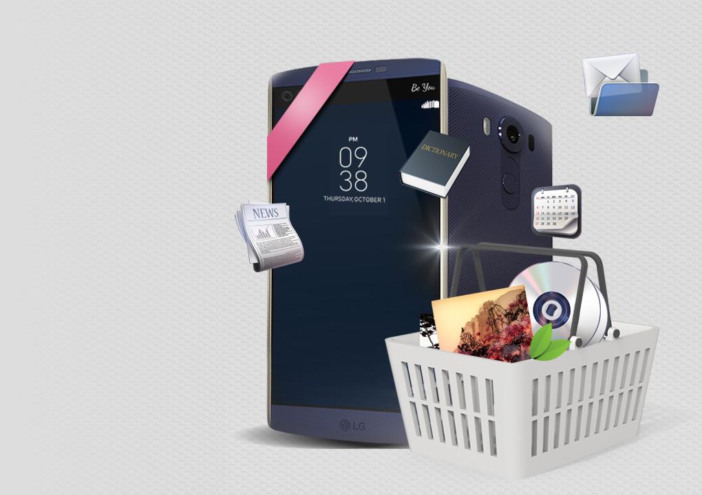 [SmartWorld得到新的幸運 'LG V10']